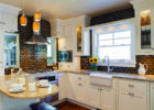 Black Bricks Pattern Kitchen Backsplash Designs Ideas for Subway Tiles Backsplash Ideas