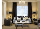 Black Living Room Curtain Color Ideas with Draperies Curtains for Living Room