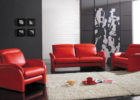 Black Red Living Room Ideas with Modern Red Living Room Couch Design