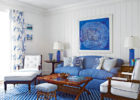 Blue Accessories Living Room Ideas with Blue Paint Ideas for Small Living Room Spaces
