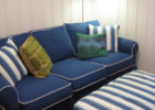 Blue Stripes Living Room Furniture Ideas with Paint Ideas for Small Living Room Spaces
