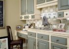 Cheap Kitchen Cabinets Refacing Ideas in Grey White Kitchen Color