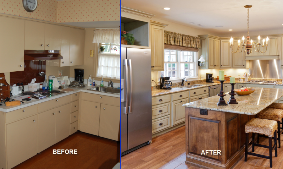 Cheap Kitchen Remodel Ideas Before and After with Inexpensive Kitchen Remodel on a Budget