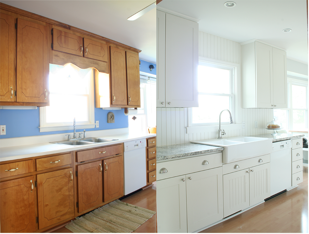 Kitchen Remodel Ideas With Inexpensive Cabinet Before And After