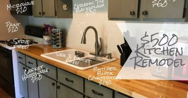 Cheap Kitchen Remodel Ideas with Inexpensive Kitchen Remodel on a Budget