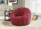 Contemporary Red Swivel Chairs for Living Room Decorations with Cheap Modern Furniture Ideas