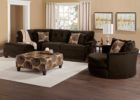 Contemporary Round Black Swivel Chairs for Living Room with Cheap Sectional Sofa Modern Furniture