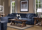 Dark Blue Living Room Sofa Furniture Ideas with Paint Ideas for Modern Living Room