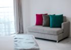 Grey Color Schemes for Living Room with Modern Curtain Ideas for Living Room