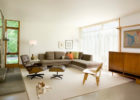 Grey Swivel Chairs and Sectional Sofa for Living Room Decor with Cheap Modern Furniture Sets