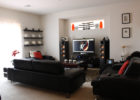 How to Decorate a Black Couch Living Room Furniture Sets for Awesome Living Room Theaters