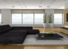 How to Decorate a Black Sofa Living Room for Modern Living Room Theaters