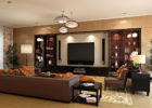 How to Decorate a Large Living Room for Awesome Living Room Theaters