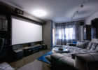 How to Decorate a Living Room for Big Screen Living Room Theaters
