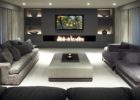 How to Design Modern Living Room Movie Theaters with Neutral Color Schemes