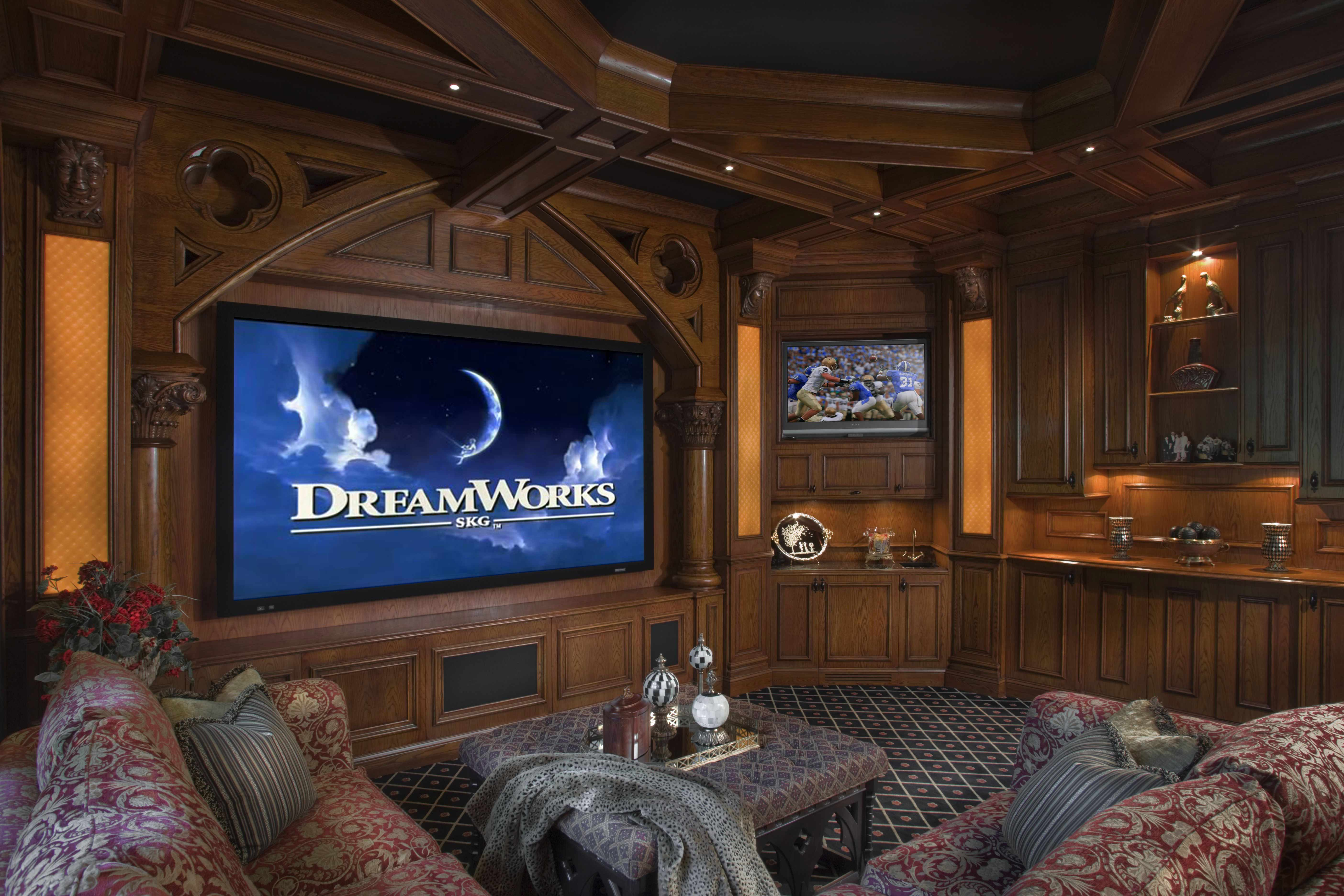 How To Design Living Room Theaters