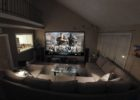 Large Living Room Special Movies Theaters Decor with Modern Cheap Furniture Online