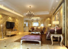 Luxury Gold Wall Tufted Living Room Furniture Sets in Discount Furniture Stores