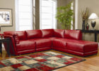 Luxury Leather Red Living Room Sofa  Ideas with White Living Room Drapes
