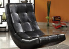 Modern Black Leather Tufted Swivel Chairs for Living Room with Cheap Modern Furniture Ideas