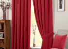 Modern Red Living Room Ideas with Living Room Drapes Decor