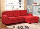 Modern Red Living Room Sectional Sofa Ideas with Brown Living Room Drapes