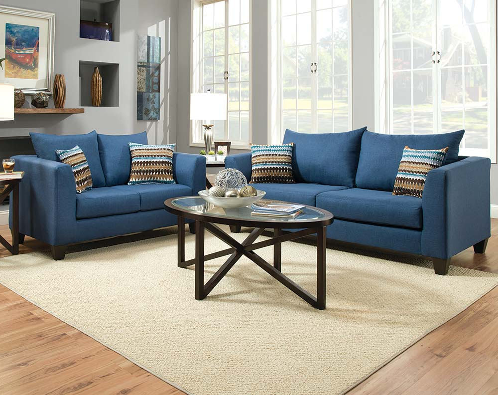 Blue Living Room Ideas For Small Spaces