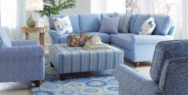 Soft blue living room furniture sets ideas with paint ideas for living room decor raysa house - Paint for small spaces set ...