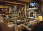 Traditional Luxury Living Room Furniture with Wooden Beam Ceiling in Discount Furniture Stores