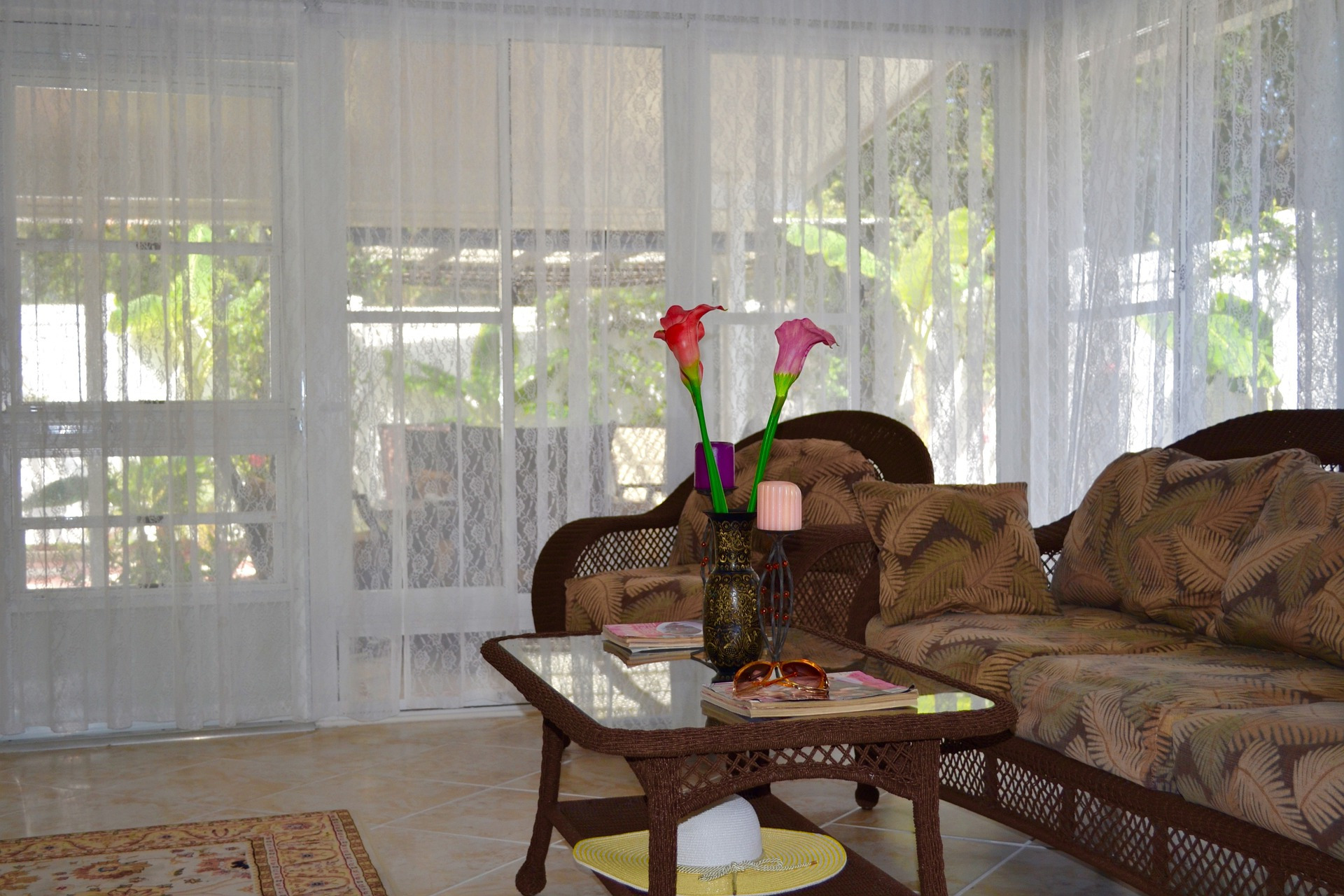 White Living Room Drapery Curtain Ideas With Types Curtains For