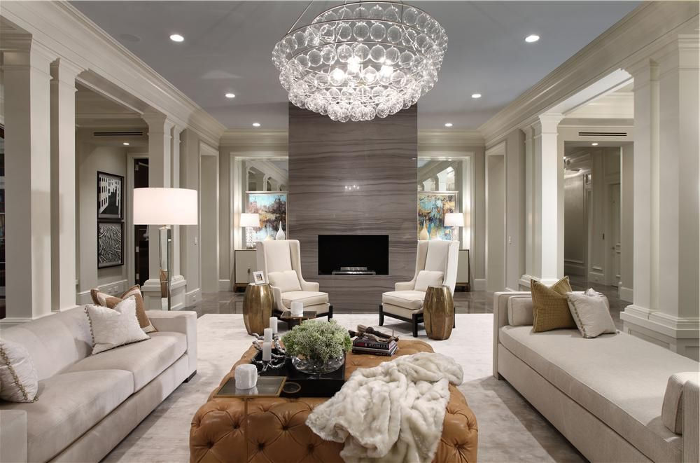 White Luxury Leather Sofa Living Room Furniture Sets in Discount Furniture Stores
