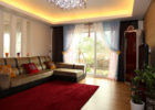Window Living Room Curtain Color Ideas with Types of Curtains for Living Room