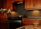 Wooden Kitchen Cabinets and Decorating Ideas for Black Natural Stone Kitchen Backsplash Designs