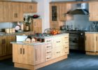 Maple Wood Cheap Kitchen Cabinets Refacing Ideas with Island Designs