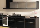 Modern-Black-Cheap-Kitchen-Cabinets-Refacing-Ideas