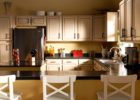 White DIY Kitchen Cabinets with Gallery Ideas for Kitchen Cabinets with Mini Bar Design