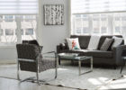 Cheap Modern Grey Living Room Furniture Sets with Cool Coffee Tables