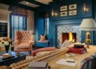 aweome blue living room furniture sets with living room fireplace ideas