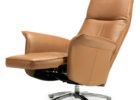 awesome brown leather swivel chairs living room sitting area ideas