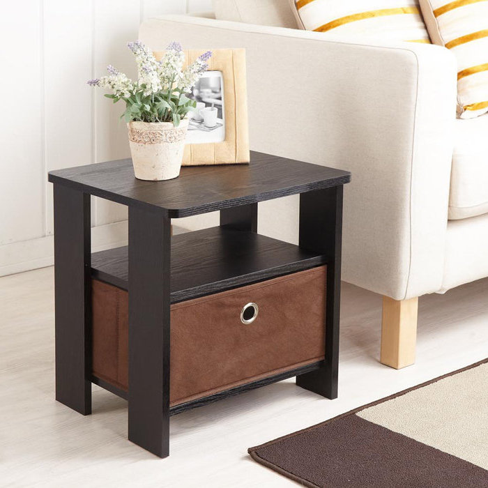 Cheap oak end tables with storage for wooden end tables living room furniture ideas raysa house for Cheap oak living room furniture