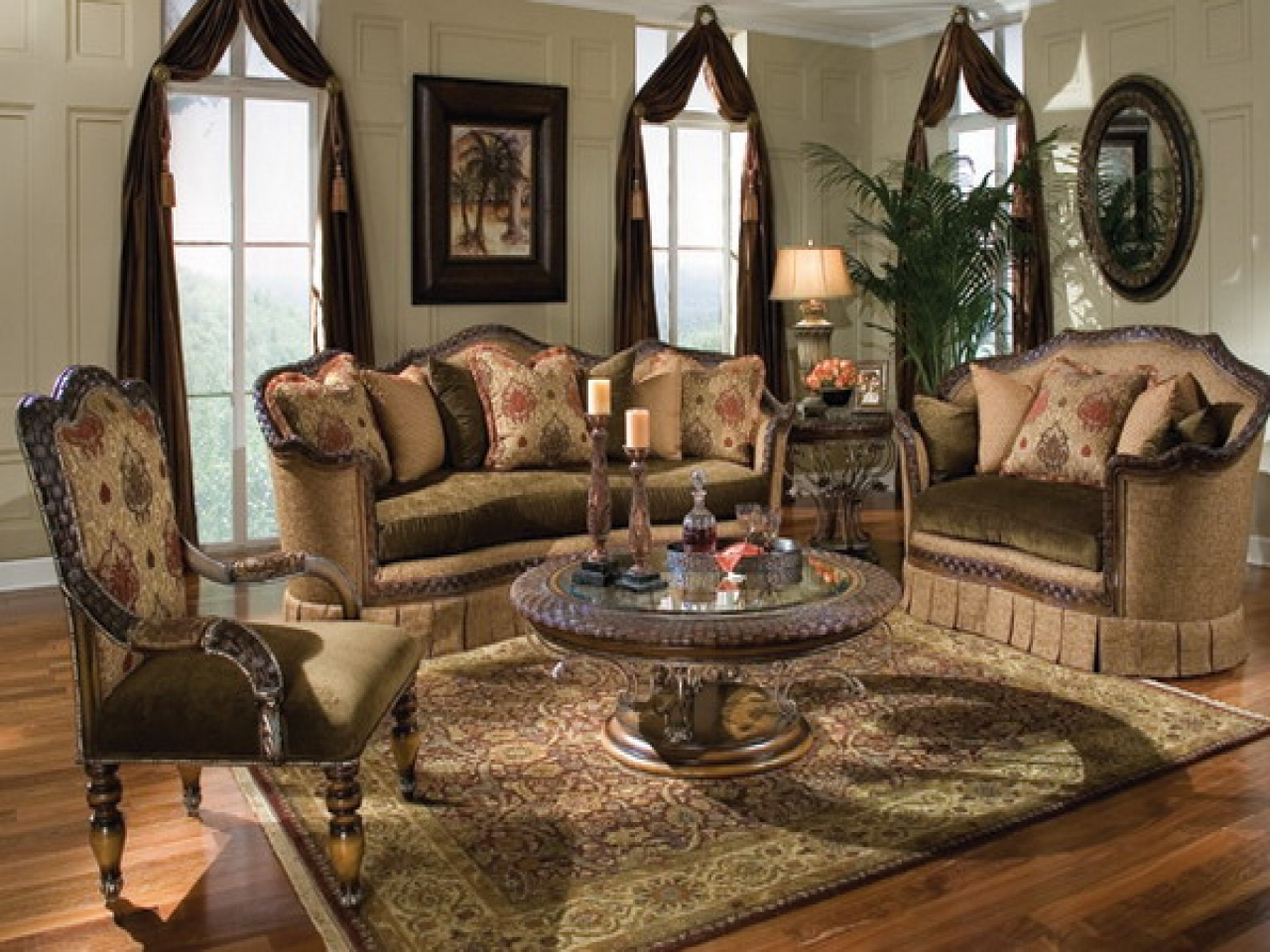 classic italian decor living room furniture arrangements ideas