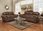 classic italian leather living room furniture set