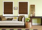 contemporary living room ideas window treatments