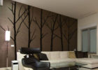 custom tree wall decals for living room wall decorating ideas