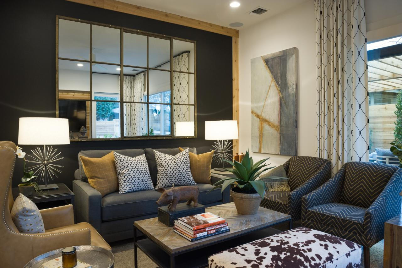 decorative large walls mirrors for modern living room walls decor