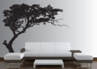 large custom tree wall decals for living room wall art sticker