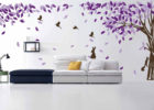 large custom wall decals for living room vinyl wall murals ideas