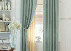 modern beige drapes for small modern living room window decor ideas