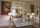 modern large wall decorative mirrors for living room