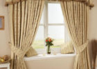 pinch pleat drapes for contemporary living room decor ideas
